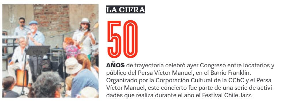 Grupo Congreso en Persa Víctor Manuel