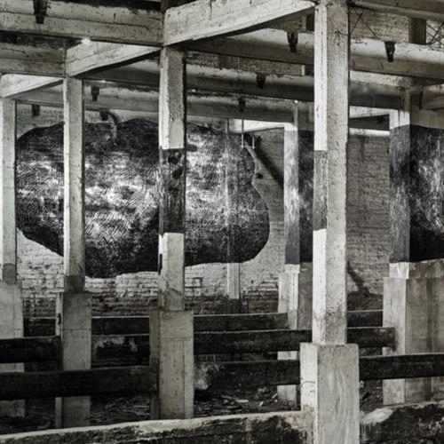 El mural con ilusión óptica que se suma al recorrido de arte urbano del Persa Víctor Manuel